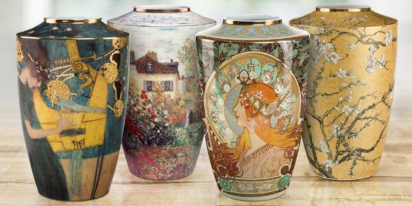 Vázy jako z pohádky: hodnotná dekorace bytu se 4 motivy světových malířů