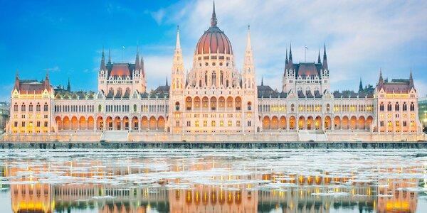 Čarovná Budapešť: 3-4denní pobyt pro 2 os.