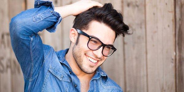 Pánský střih i s masáží proti padání vlasů