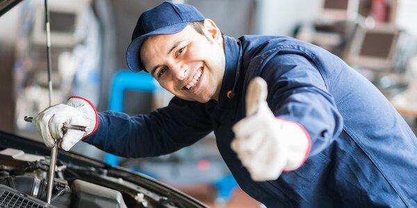 Zimní servisní prohlídka pro vaše auto