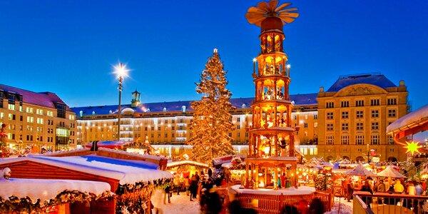 Vlakem na adventní trhy do Drážďan