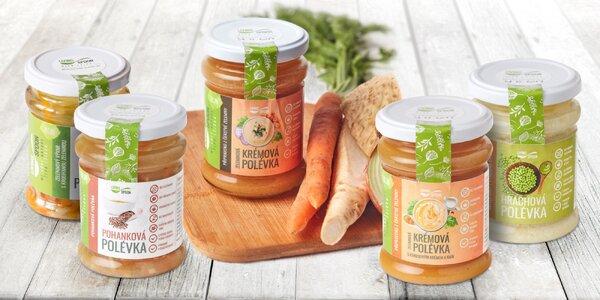Polévky plné vitamínů od českého výrobce