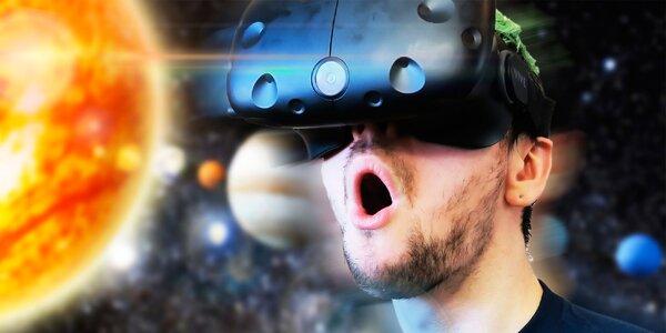 50 minut ve virtuální realitě až pro tři osoby