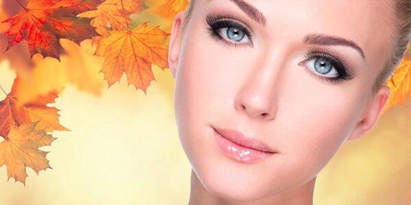 Ošetření pleti, masáž, peeling a úprava obočí