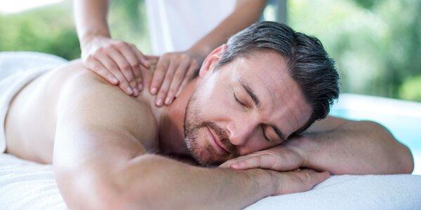 Masáže i zábal: regenerační balíček pro muže