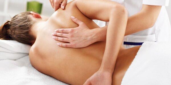 Rekondiční masáž pro odstranění bolestí zad a šíje