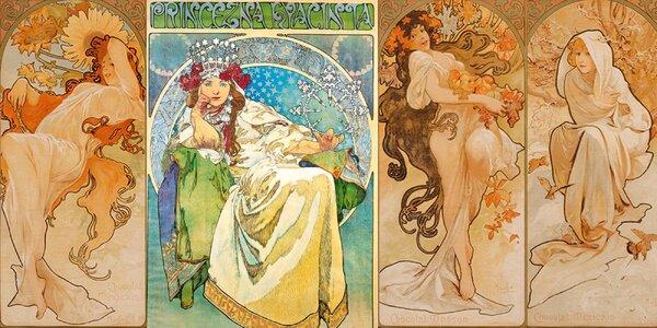 Obklopte se krásou – výstava Alfonse Muchy