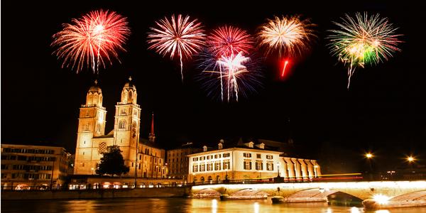 Silvestr v Curychu se zastávkou v Lichtenštejnsku