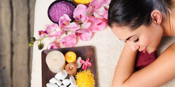 60 minut v ráji: kombinace tří exotických masáží