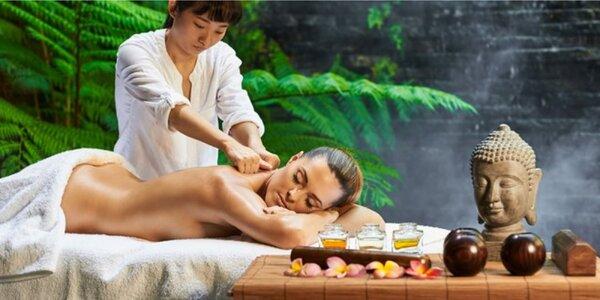 Výběr z 6 druhů luxusních thajských masáží včetně aroma lázně nohou