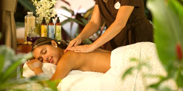 80 minut hýčkání: Thajská masáž vč. aroma lázně