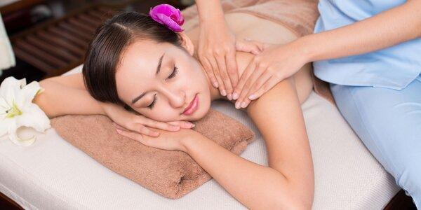 60minutová antibloková nebo havajská masáž