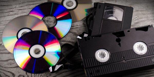Převod VHS kazet či jiných druhů na DVD či USB