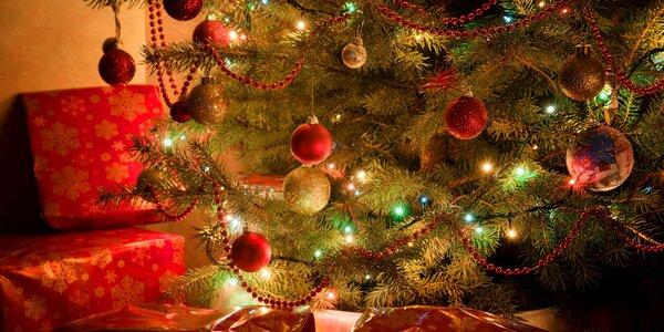 Vánoční osvětlení na stromeček se 200 LED diodami