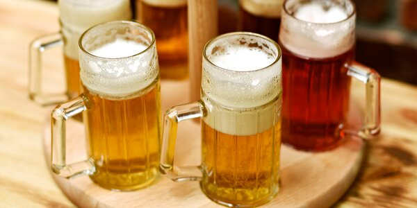 Degustace 6 druhů piv z malých pivovarů