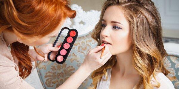 Kurz denního a večerního make-upu s vizážistkou