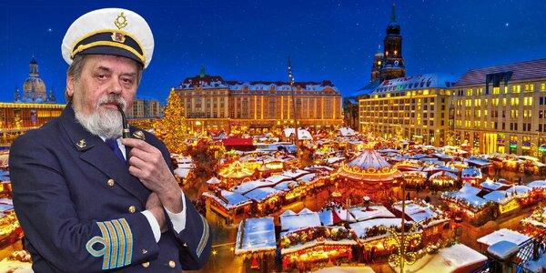 Adventní plavba za nákupy do Drážďan, busem zpět