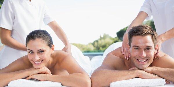 Romantické hýčkání pro dva: na výběr z 5 masáží