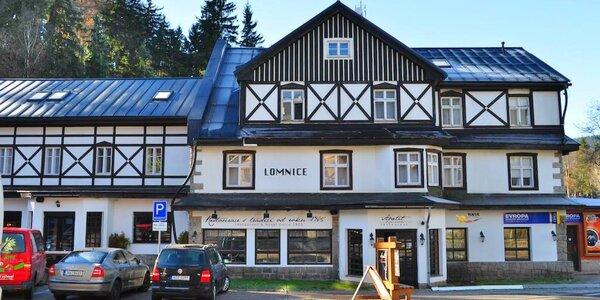 Na hory do Špindlu: polopenze i vodní svět