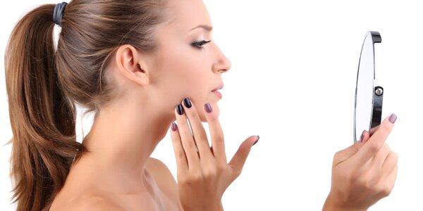 Ošetření ultrazvukovou špachtlí vč. péče o ruce