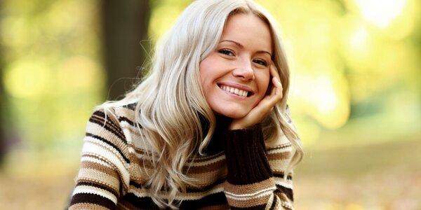 Kosmetické ošetření pleti s efektem liftingu
