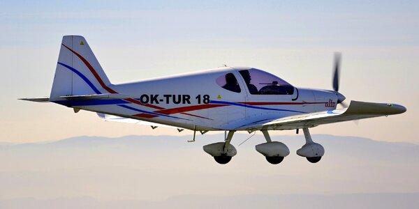 Pilotování sportovního letadla Alto 912 TG