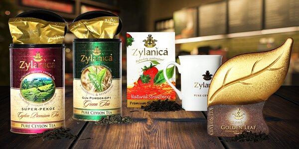Velkolisté čaje ze Srí Lanky v krásném balení