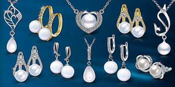 Elegantní perlové šperky – zbrusu nová kolekce