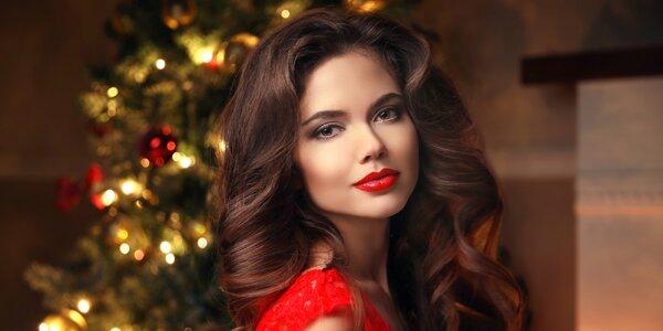 90minutové kosmetické ošetření s líčením