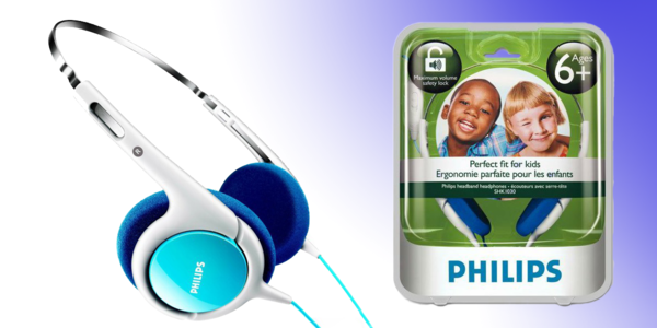 Sluchátka Philips pro děti nejen na cesty