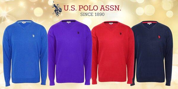 Pánské bavlněné svetry U.S. POLO ASSN