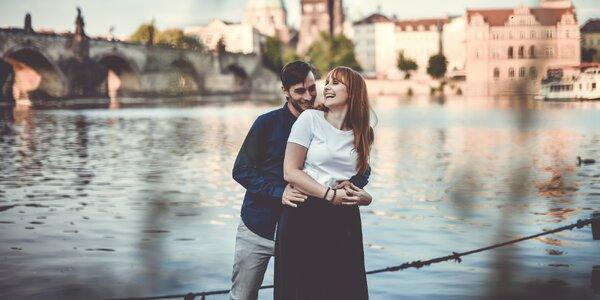 Exteriérové párové focení s profesionálním fotografem