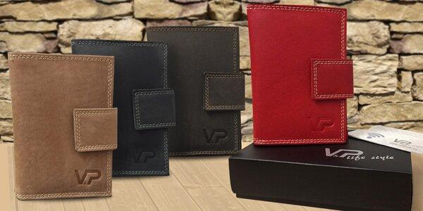 Dámské kožené peněženky v dárkové kazetě
