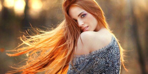 Péče pro poškozené vlasy a padnoucí střih