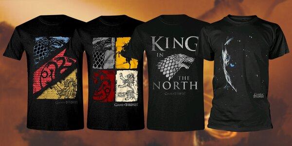 Game of Thrones: pánská trika s motivy seriálu