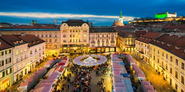 Čokoládovna Hauswirth a adventní Bratislava