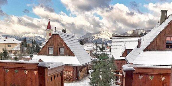 Zimní dovolená na Liptově v chalupě či apartmánu