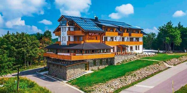 Rodinný pobyt v horském penzionu na Slovensku