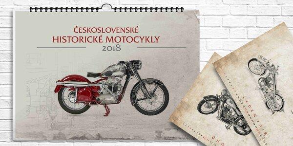Kalendář: Československé historické motocykly
