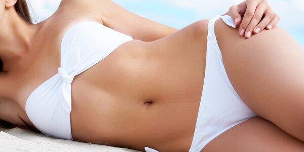 Hubnutí bezbolestnou liposukcí + lymfodrenáž