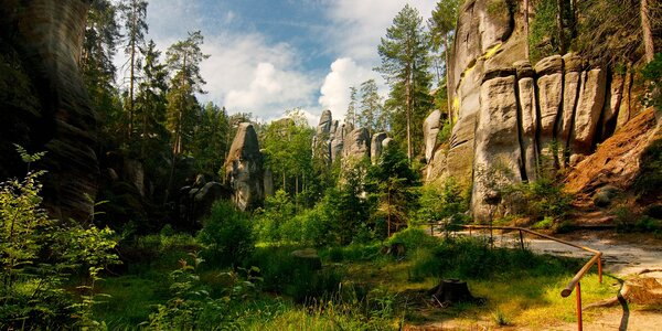 Pobyt s polopenzí u čarokrásného Adršpachu
