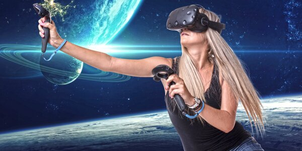 Hodina ve virtuální realitě pro 1-2 pařiče