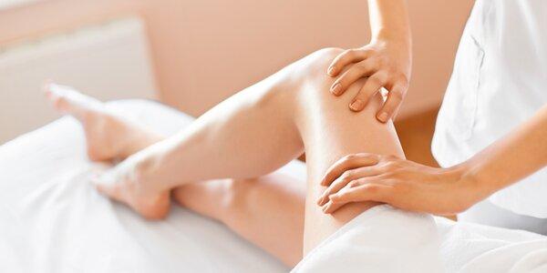 Úleva od těžkých nohou: manuální lymfodrenáž