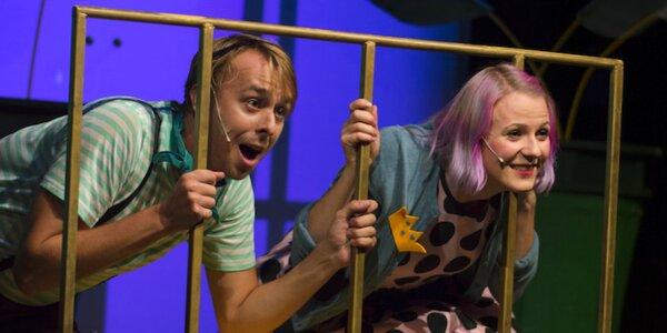 Vstupenka na pohádku ve zlínském divadle Scéna