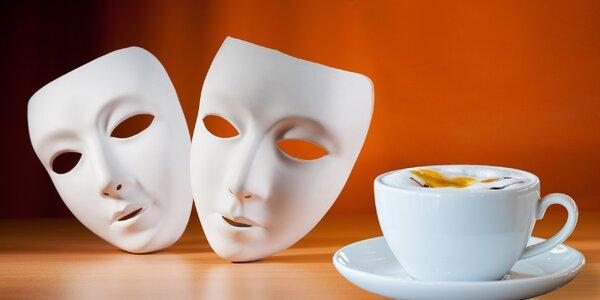 Divadlo či koncert a vášnivá káva nebo svařák