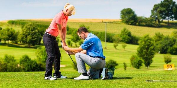 Golfový kurz BASIC v Golf&Spa Resortu Hluboká