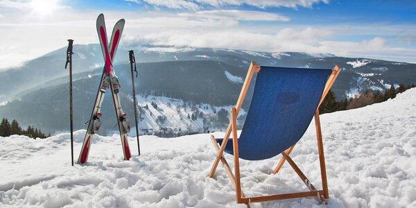 Zima nebo jaro v Peci nedaleko skiareálu