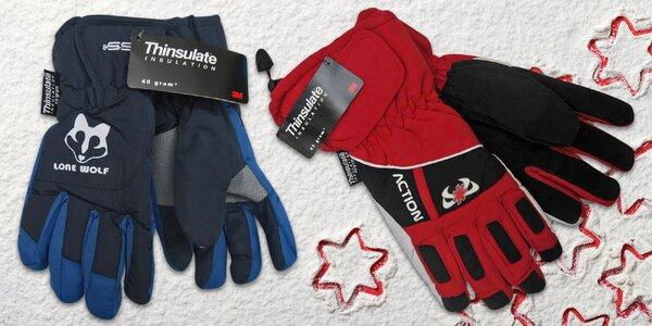 Zimní radovánky bez omezení: Dětské a juniorské rukavice Mess