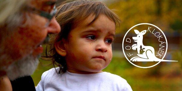 Pomozte nám zaopatřit děti z Klokánků