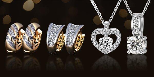 Zářivé šperky z kolekce Zirkonia Top Quality